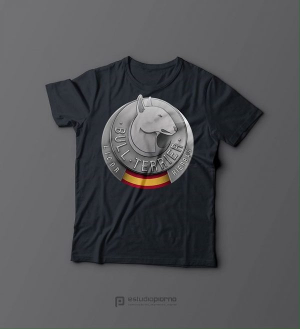 camiseta bull terrier original