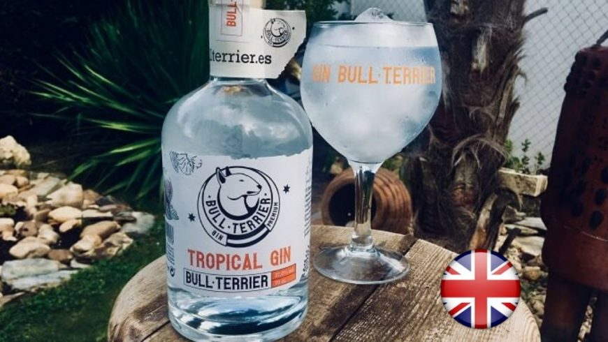 Perfect Serve Tropical Gin Bull Terrier ( English ).