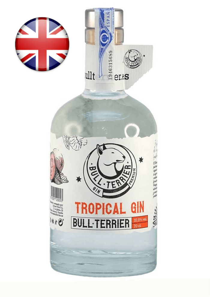 tropical gin bull terrier