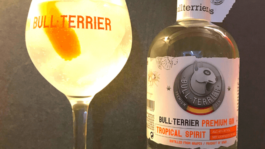 Spanish Style Gin Tonic Tropical Gin Bull Terrier ( English )